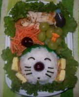 Final Fantasy Bento Moogle by chocobo-kisses