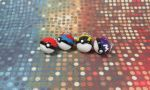 Charms: Pokeballs by okapirose