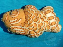 Taiyaki Fish Cake Plush by thislittlechicken