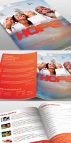 Hope Church Bulletin Template by loswl