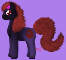 King in Pony form by bombai-beast