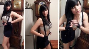 Tifa is Getting Dressed by AftermathsReflection