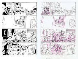 Johnny Zombie Inks Page 1 by mistermuck