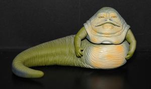 Jabba the Hut Figure by TheAmiableAmasser