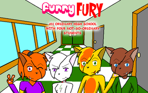 Furry FURY Cover Art by tanglepath