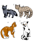 WTA WM adopts (open 4/4) by OverLord-Adopts