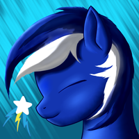 OC Blue Blaze - Icon by AC-whiteraven