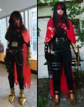 Vincent Valentine cosplay comparison by Crimson-rose-x