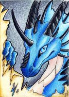 ACEO Deathsinger by Ellie-theAzurea