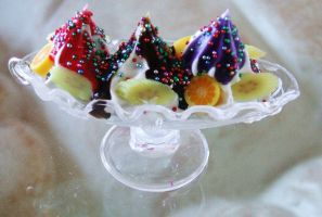 Banana Split Necklace by FruitloopQueen