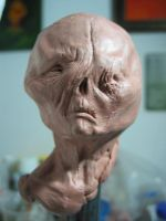 Quick Alien Head by Lostinfog88
