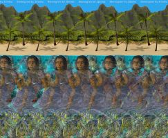 Magic Eye Aloha by 3Dimka