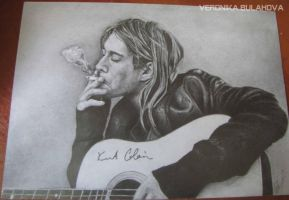 Kurt Cobain by VeronikaBulahova