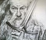 Gandalf the Grey by PrehistoricGiraffe