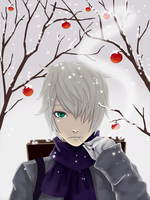 Ginko - winter by melomane-otsu