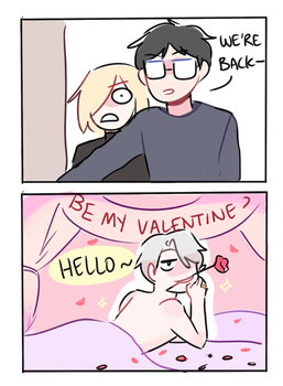 YOI: HAPPY VALENTINES by Randomsplashes