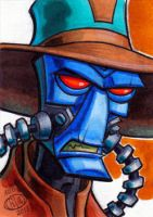 Cad Bane Sketch Card by Chad73