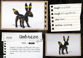 #197 | Umbreon by Khajay