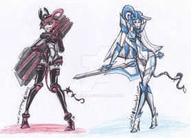 Transformers Prime OC:  Prudence and Purity by Israel42