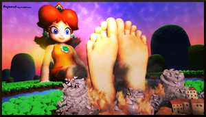 Titan Goddess Princess Daisy by Poposan