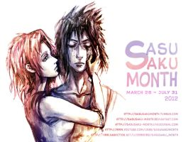 SasuSaku Month 2012 Ad by jesterry