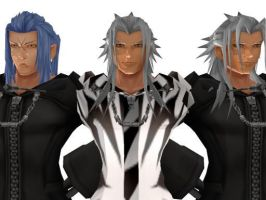 Xemnas Final,Xemnas,and Saix DL!!!!!!! by Mei-Rin336