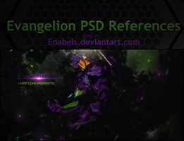 Evangelion PSD References by Enabels