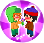 Stan X Kyle from South Park by FerzyPPGD