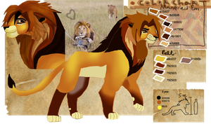 Lion OC by Asoq