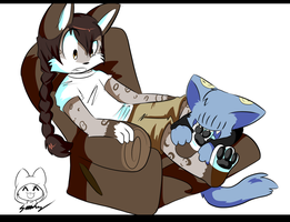 In Which We Experience Qwuedeviv Foot Nibbles by SmilehKitteh