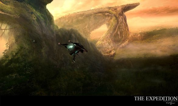 The Expedition by tigaer