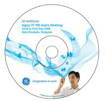 GE healthcare Cd label by purpletbl