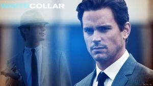 White Collar Fan Art , Neal Caffrey ! by Vulkaa