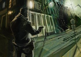 Dark Reader by sinakasra