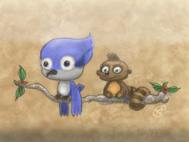 CA! Week 71: REGULAR SHOW by photon-nmo