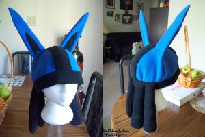 Lucario Hat - $55-60 by Kai45