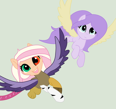 Sisters From diffent universie by Lillypupgirlsweet