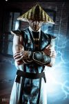 Cosplay - Mortal Kombat - Raiden by brijcharan