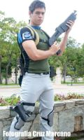 Chris Redfield BSAA Ver. by Takeshi-Ikengel
