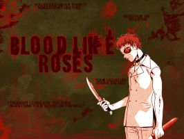Farfarello: Blood Like Roses by frk-werewolf