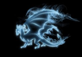 Dragon Patronus by Tribalchick101