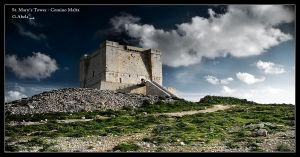 St Mary's Tower Comino by gdab008