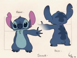Character Guide Line - Stitch by Ribera