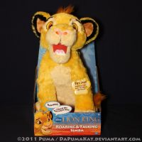 2011 Roaring Simba plush toy by dapumakat