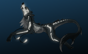 Squale Wolf - Adoptable (auction) CLOSED by Nereiix