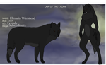 Lair of The Lycan Elmaria's Reference by xRogueKimbitx