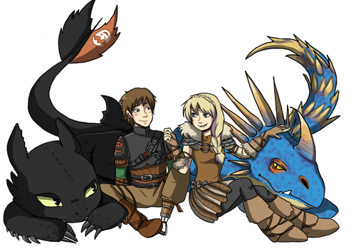 HTTYD 2 by EsuNeh