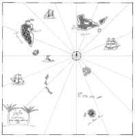 Map for DnD: Distant Isles by Squirrel-slayer