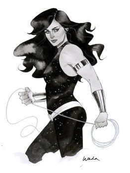Donna Troy - Austin Wizard World 2014 sketch by kevinwada