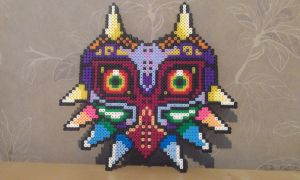 Mask of Majora by RavenTezea